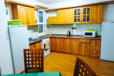 ubytovani podhajska green houses kuchyne